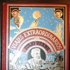 Libros de segunda mano: JULIO VERNE - LAS AVENTURAS DE 3 RUSOS Y 3 INGLESES / EL SECRETO DE MASTON - C. INT. DEL LIBRO 1982. Lote 44460503