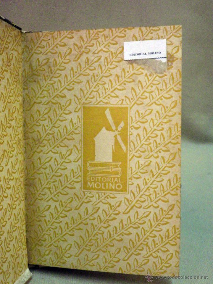 Libros de segunda mano: RARO LIBRO, COLECCION HISTORIA Y LEYENDA, Nº 16, GUILLERMO TELL, EDITORIAL MOLINO, 1941 - Foto 2 - 44696142