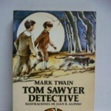 Libros de segunda mano: AUSTRAL JUVENIL ESPASA-CALPE .- TOM SAWYER DETECTIVE - MARK TWAIN.- ILUSTRADO. Lote 44831256