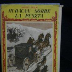 Libros de segunda mano: LIBRO HURACÁN SOBRE LA PUSZTA ANDRÉS REVESZ COLECCIÓN LA NAVE SERIE B 96 PÁGINAS 396. Lote 44842582