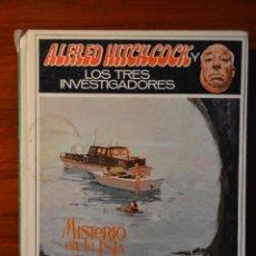 Libros de segunda mano: ALFRED HITCHCOCK Y LOS TRES INVESTIGADORES EN MISTERIO EN LA ISLA DEL ESQUELETO. Lote 45436221