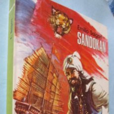 Libros de segunda mano: ED. BOGA. MUNDO AVENTURERO (Nº7)(AÑO 1973): SANDOKAN. Lote 45574193