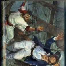 Libros de segunda mano: SALGARI : UN DRAMA EN EL OCEANO PACÍFICO (MOLINO, 1957). Lote 57113331