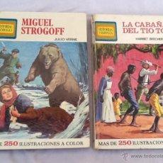 Libros de segunda mano: LOTE DE 2 LIBROS HISTORIAS FAMOSAS. Lote 45986801