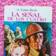 Libros de segunda mano: LA SEÑAL DE LOS CUATRO MINI BIBLIOTECA DE LA LITERATURA UNIVERSAL EDELVIVES 1983 CONAN DOYLE. Lote 46116136