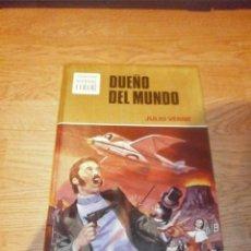 Libros de segunda mano: DUEÑO DEL MUNDO - JULIO VERNE - COL. HISTORIAS DE COLOR - EDITORIAL BRUGUERA-1978. Lote 46263426