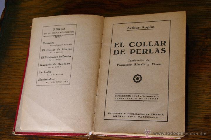98a3f900cb32 Libros de segunda mano  Libro El collar de perlas - Foto 2 - 46350916