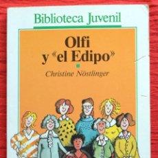 Libros de segunda mano: OLFI Y EL EDIPO - CHRISTINE NÖLTLINGER - BIBLIOTECA JUVENIL - SALVAT ALFAGUARA. Lote 46391046