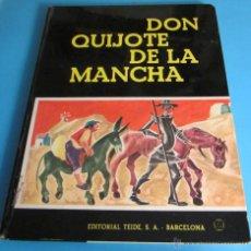 Libros de segunda mano: DON QUIJOTE DE LA MANCHA. ADAPTACIÓN: MARÍA LUZ MORALES. ILUSTRACIONES: MARIA CALATI. Lote 46422040