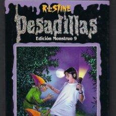 Libros de segunda mano: PESADILLAS EDICIÓN MONSTRUO 9 - EL FANTASMA AULLADOR - HORROR EN JELLYJAM LA VENGANZA DE LOS GNOMOS. Lote 46534385