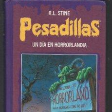 Libros de segunda mano: PESADILLAS UN DÍA EN HORROLANDIA LOS ESPANTAPAJAROS ANDAN A MEDIANOCHE - R.L. STINE CÍRCULO LECTORES. Lote 46540230