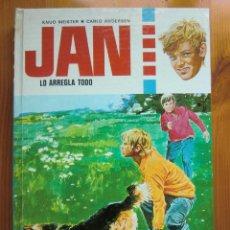 Libros de segunda mano: LIBRO JAN LO ARREGLA TODO (1974) DE KNUD MEISTER & CARLO ANDERSEN. EDITORIAL TORAY. MUY BUEN ESTADO. Lote 46614419