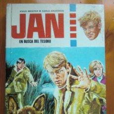 Libros de segunda mano: LIBRO JAN EN BUSCA DEL TESORO (1974) DE KNUD MEISTER & CARLO ANDERSEN. EDITORIAL TORAY. + REGALO. Lote 46614501
