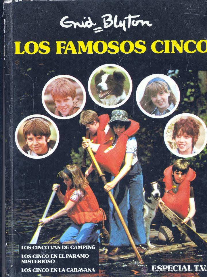 LOS FAMOSOS CINCO. ESPECIAL TV. EDITORIAL JUVENTUD, 1979 (Libros de Segunda Mano - Literatura Infantil y Juvenil - Novela)