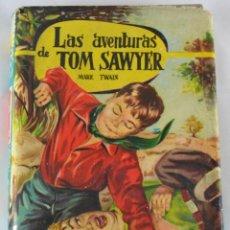 Libros de segunda mano: * LAS AVENTURAS DE TOM SAWYER * MARK TWAIN * AÑOS 50 * 12 ILUSTRACIONES COLOR * HORIZONTES JUVENILES. Lote 46787100