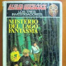 Libros de segunda mano: LIBRO ALFRED HITCHCOCK Y LOS TRES INVESTIGADORES: MISTERIO DEL LAGO FANTASMA (1974) MOLINO. Lote 46954753
