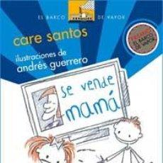 Libros de segunda mano: SE VENDE MAMÁ - SANTOS, CARE. Lote 47449692