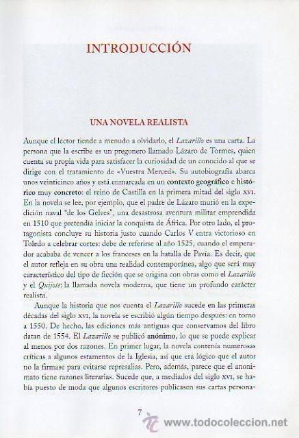 Libros de segunda mano: LAZARILLO DE TORMES - ADAPTACIÓN DE EDUARDO ALONSO. ILUSTRADO POR JESÚS GABÁN. ED.VICENS VIVES, 2006 - Foto 5 - 47521223