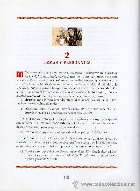 Libros de segunda mano: LAZARILLO DE TORMES - ADAPTACIÓN DE EDUARDO ALONSO. ILUSTRADO POR JESÚS GABÁN. ED.VICENS VIVES, 2006 - Foto 6 - 47521223