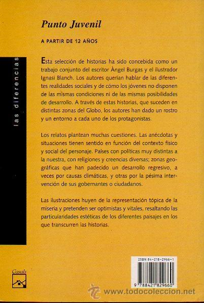 Libros de segunda mano: -PEQUEÑAS HISTORIAS DEL GLOBO- ÁNGEL BURGAS. DIBUJOS DE IGNASI BLANCH. ED.CASALS, 2003 - Foto 4 - 47521367