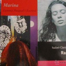 Libros de segunda mano: RAQUEL DE ISABEL-CLARA SIMÓ (COLUMNA) I MARINA DE GEMMA PASQUAL I ESCRIVÀ (ALFAGUARA). Lote 47541143