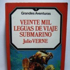 Libros de segunda mano: 20.000 LEGUAS DE VIAJE SUBMARINO (JULIO VERNE) - GRANDES AVENTURAS Nº 1 - EDICIONES FORUM . Lote 47577841