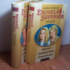 Libros de segunda mano: LAS GEMELAS DE SWEET VALLEY (ESCUELA SUPERIOR TOMO I Y III (FRANCINE PASCAL). Lote 47700616
