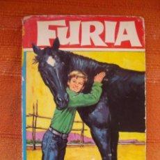 Libros de segunda mano: LIBRO FURIA LOS PIRATAS DEL RIO BRUGUERA NUMERO 28 AÑO 1967. Lote 47785172