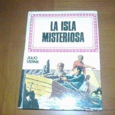 Libros de segunda mano: LA ISLA MISTERIOSA JULIO VERNE HISTORIAS INFANTILES 1978. Lote 47849026