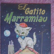 Libros de segunda mano: EL GATITO MARRAMIAU EDITORIAL VASCO AMERICANA 1962 GRANDES ALBUMES EVA 1 EDICIÓN 1ª. Lote 48219381