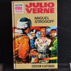 Libros de segunda mano: MIGUEL STROGOFF. JULIO VERNE. HISTORIAS SELECCION. BRUGUERA 1979. Lote 48411604