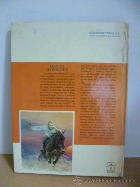 Libros de segunda mano: MIGUEL STROGOFF ( JULIO VERNE ) ILUSTRADO TORAY 1978 - Foto 8 - 49482306