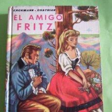 Libros de segunda mano: EL AMIGO FRITZ - ERKMANN CHATRIAN - EDITORIAL MATEU - 255 PAGINAS - 1961 - COLECCION JUVENIL CADETE. Lote 49709408