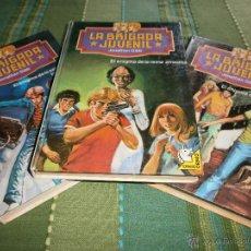 Libros de segunda mano: LOTE 3 EJEMPLARES LA BRIGADA JUVENIL - JONATHAN GIBB - Nº 2, 4, 6 - ED. MARTÍNEZ ROCA - AÑOS 80.. Lote 49975479