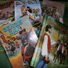 Libros de segunda mano: LOTE 3 LIBROS CLÁSICOS JUVENILES - EDITORS, S.A. - EDICIONES DALMAU SOCIAS - 1986.. Lote 50045042