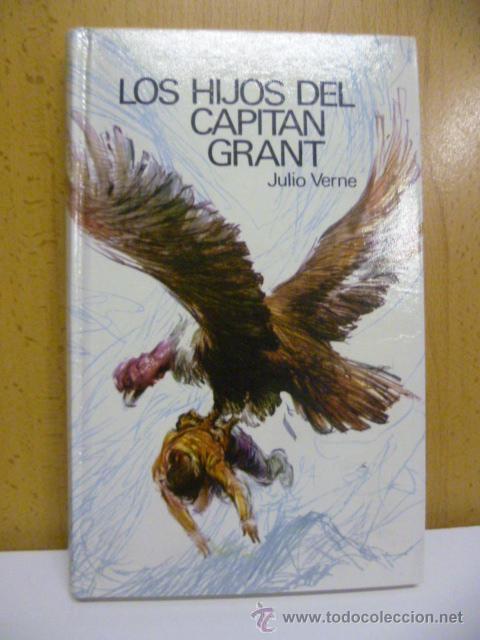 LIBRO LOS HIJOS DEL CAPITAN GRANT (1.969) JULIO VERNE (Libros de Segunda Mano - Literatura Infantil y Juvenil - Novela)