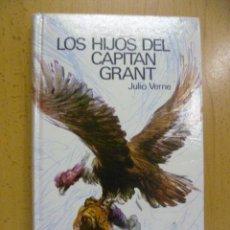 Libros de segunda mano: LIBRO LOS HIJOS DEL CAPITAN GRANT (1.969) JULIO VERNE. Lote 50252653
