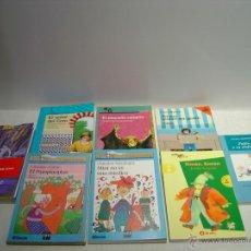 Libros de segunda mano: LECTURA PARA NIÑOS DE 7 A 12 AÑOS LOTE DE OCHO LIBROS. Lote 50265807