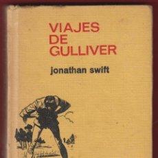 Libros de segunda mano: LA VUELTA AL MUNDO EN 80 DIAS-JULIO VERNE-HISTORIAS INFANTILES-BRUGUERA-223 PAGS-AÑO 1969-LJ437. Lote 50525426