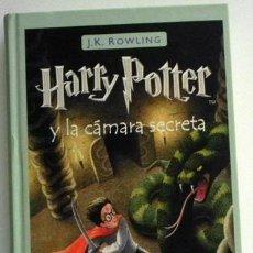Libros de segunda mano: HARRY POTTER Y LA CÁMARA SECRETA - J K ROWLING - NOVELA INFANTIL JUVENIL - MAGIA MAGO FANTASÍA LIBRO. Lote 50550699