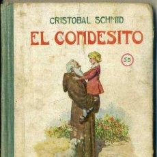 Libros de segunda mano: SCHMID : EL CONDESITO (SELECTA SOPENA, 1941). Lote 50843591