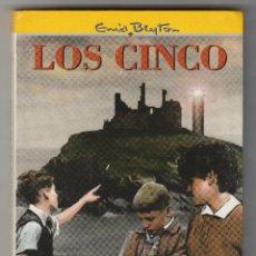 Libros de segunda mano: LOS CINCO Nº 5. LOS CINCO OTRA VEZ EN LA ISLA DE KIRRIN. ENID BLYTON. EDITORIAL JUVENTUD.. Lote 50915706