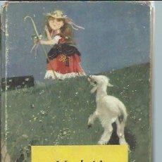 Libros de segunda mano: HEIDI, JUANA SPYRI, EDITORIAL MOLINO BARCELONA 1956, ILUSTRACIONES EN TEXTO, 120 PÁGS. Lote 51055155