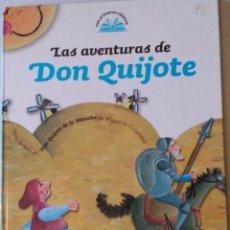 Libros de segunda mano: LAS AVENTURAS DE DON QUIJOTE ISBN 849815 520 7. Lote 51150914