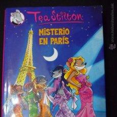 Libros de segunda mano: TEA STILTON. TOMO 4. .MISTERIO EN PARÍS. DESTINO. Lote 51256670