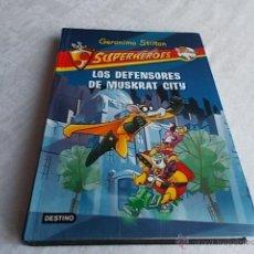 Libros de segunda mano: GERONIMO STILTON SUPERHÉROES Nº 1. Lote 51777170