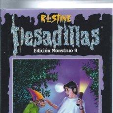 Libros de segunda mano: PESADILLAS - EDICIÓN MONSTRUO - 3 TÍTULOS: EL FANTASMA AULLADOR, HORROR EN JELLYJAM Y LA VENGANZA V. Lote 52162781