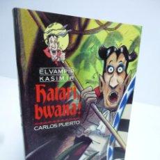 Libros de segunda mano: EL VAMPIR KASIMIR # 16. HATARI, BWANA!- CARLOS PUERTO / GUSTI (TIMUN MAS, 1997). Lote 75947218
