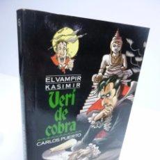 Libros de segunda mano: EL VAMPIR KASIMIR # 6. VERÍ DE COBRA- CARLOS PUERTO / GUSTI (TIMUN MAS, 1996). Lote 75948213