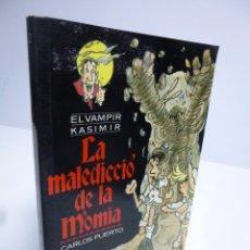 Libros de segunda mano: EL VAMPIR KASIMIR # 2. LA MALEDICCIÓ DE LA MÒMIA- CARLOS PUERTO / GUSTI (TIMUN MAS, 1995). Lote 53635344